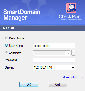 How to upgrade Check Point Multi-Domain management from R71