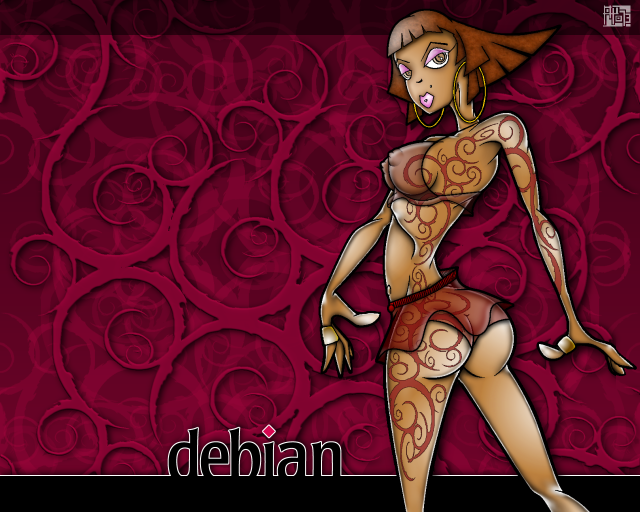 Debian wallpaper 32