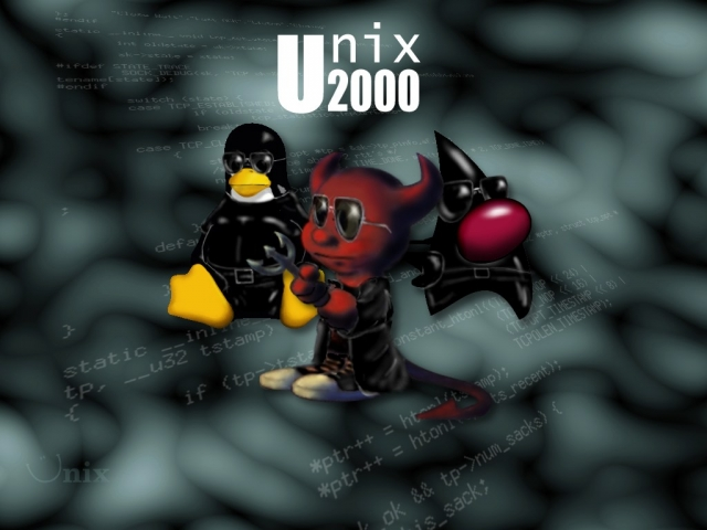 Unix wallpaper 2